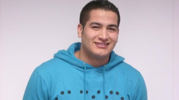 Bilal El Qasimi i lære hos AKV maskinfabrik