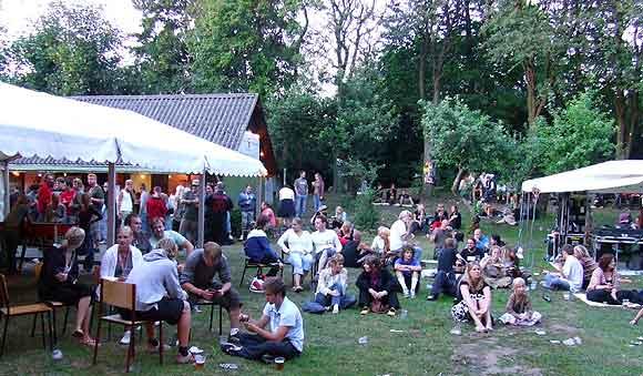 Arkivfoto af Ulrik Ricco Hansen: Danmarks Grimmeste Festival på Grimhøj Gård