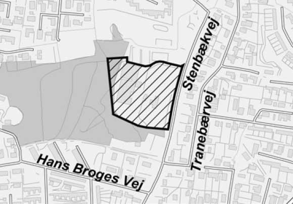 Område for Lokalplan 833 (Århus Kommune)