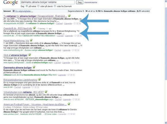Skræppebladets moderne hjemmesidesystem kombineret med klare overskrifter gør det let at finde Skræppebladet hos f.eks. Google.