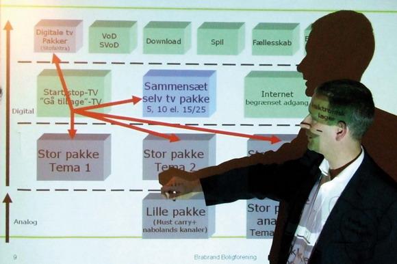 Arkivfoto af Ulrik Ricco Hansen: Stofa forklarer om Zaptor på et beboermøde 2008
