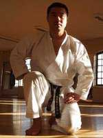 Sensei Y. Koike (pressefoto fra Honto Karate-do)