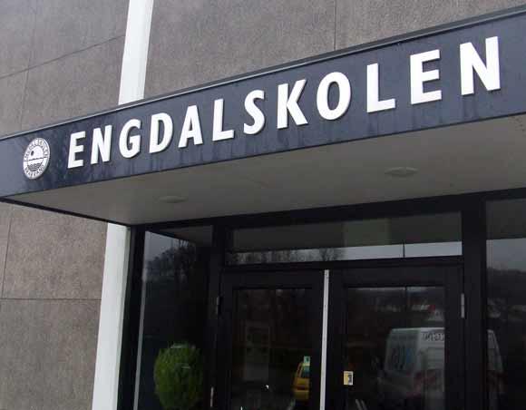 Arkivfoto af Ulrik Ricco Hansen: Engdalskolen