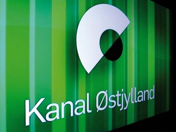 Med et minimalistisk Ø byder Kanal Østjylland velkommen  – men kun til beboere, der kan se digitale kanaler.