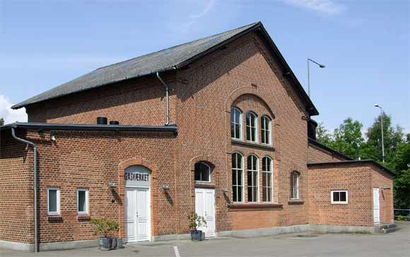 Arkivfoto af Ulrik Ricco Hansen: Det Gamle Gasværk i Brabrand