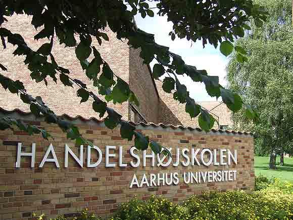 Arkivfoto af Ulrik Ricco Hansen: Handelshøjskolen i Århus (under Aarhus Universitet)