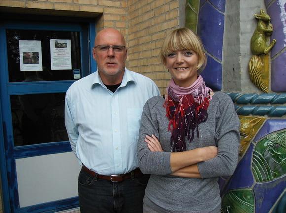 Arkivfoto af Helle Hansen: Gordon Roberts og Pia Emilie Bach Jacobsen
