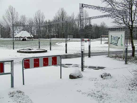 Arkivfoto af Ulrik Ricco Hansen: Fra Toveshøj der sammen med naboafdelingen Gellerupparken er omfattet af områdets helhedsplan
