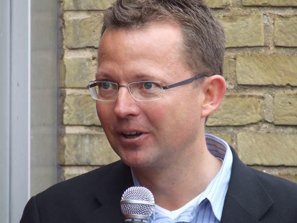 Arkivfoto af Ulrik Ricco Hansen: René Skau Björnsson