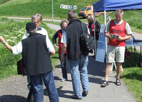 VIGØR var også med ved indvielse af Hasle bakker maj 2009