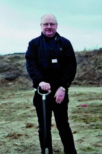 Jesper Pedersen klar  til nye byggerier i foreningen