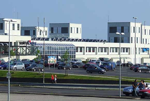 City Vest. Arkivfoto af Ulrik Ricco Hansen
