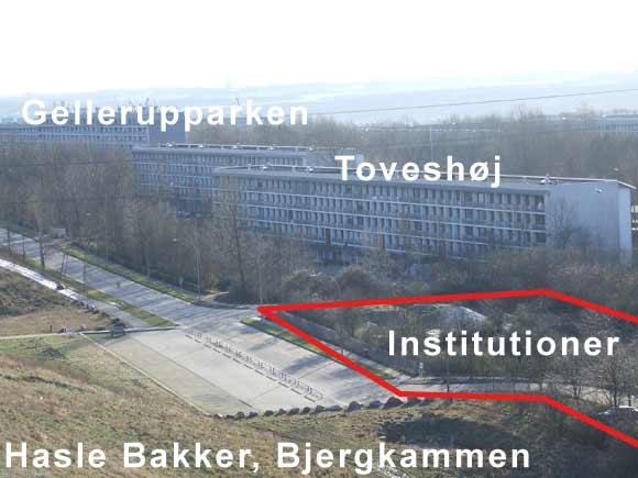 Lokaliteter omkring Spiren. Arkivfoto af Ulrik Ricco Hansen.