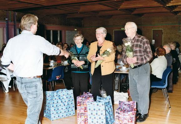 Else, Kirsten og Henning ønskes tillykke med 50-årsjubilæum