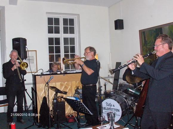 Jazzunderholdning med Fjeldtetten