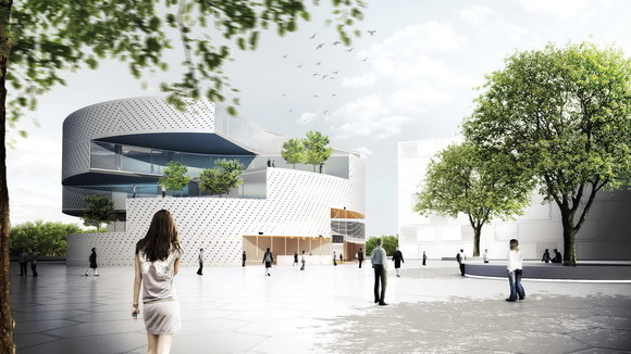 Forslag til aktivitetshus/sundhedshus på Toveshøj