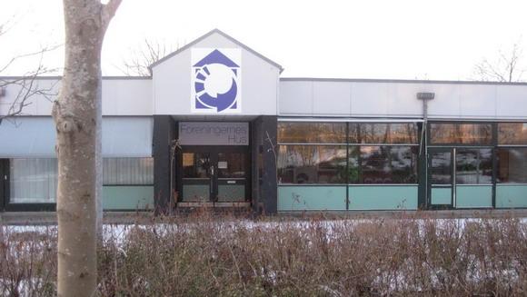 I denne bygning bliver Mediehus Gellerup til.