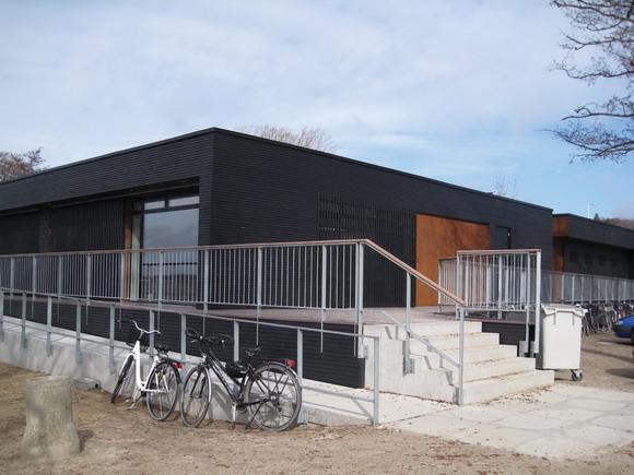 Det nye klubhus.