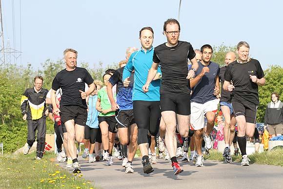 Parkrun i Hasle Bakker - nu også som holdløb. Pressefoto: DSI Hasle Bakker