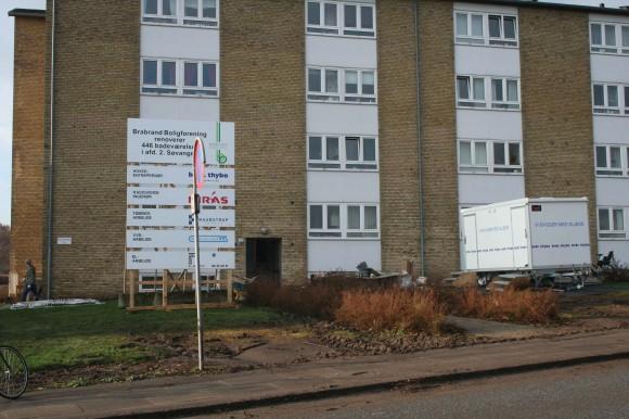 Arkivfoto af Kirsten Hermansen fra Skræppebladet 2009-1 Februar. Renovering af Søvangen
