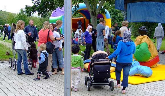 Arkivfoto af Ulrik Ricco Hansen: Mange spændende aktiviteter for børn hele dagen