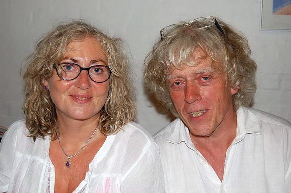Jes og Birgit, et par, der har stået for musikken for 5. år i træk