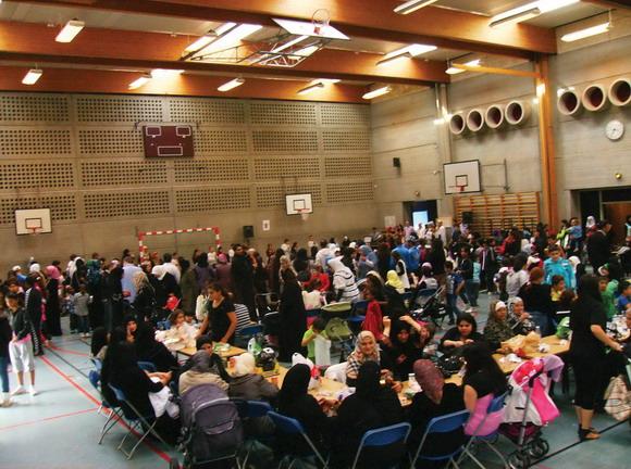 1300 børn og deres forældre hyggede sig til Gellerups Eidfest, som var arrangeret af afdelingsbestyrelsen og lokale foreninger.