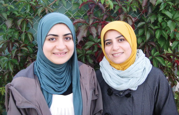 Amira og Farah Amin