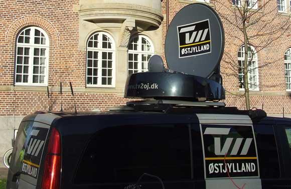 Også i 2012 kan beboere hver dag se TV 2 med blandt andet nyheder fra TV2 Østjylland. Arkivfoto af Ulrik Ricco Hansen