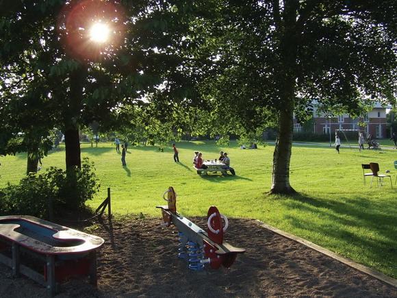 Arkivfoto: Legepladser og grønne  områder skal forskønnes