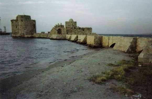 Sidon - korsridderborg