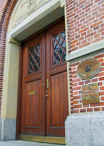 Arkivfoto af Ulrik Ricco Hansen: Retten i Aarhus