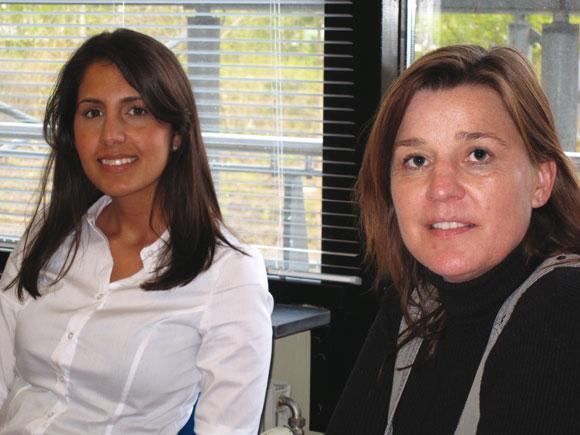 Souchef og daglig leder Mona Matten og Hanne Marstal  er begge uddannede jurister.