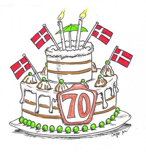 70 års dag De mange runde fødselsdage / Kommentaren 2012 08 | Skræppebladet  70 års dag