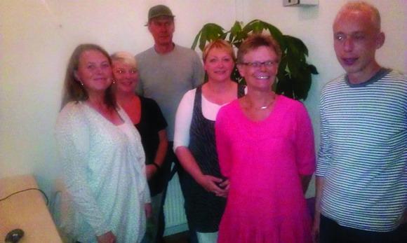 Odinsgårds bestyrelse: Sandie Andersen, Pernille Wedel (1. suppleant), Peter Johansen, Lene Olm, Lonni Laursen og Dennis Laursen