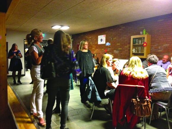 Gamle elever var med til  at fejre skolens runde dag