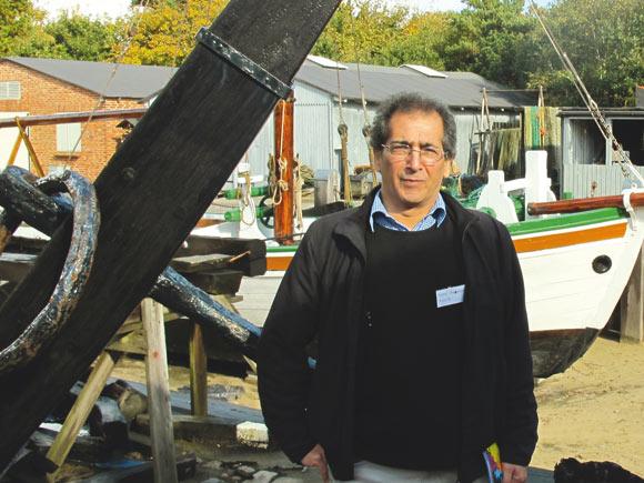 Fiskerimuset i Esbjerg, som Nemat husker fra sin studietid