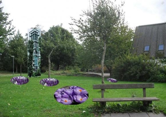 Raadhuspark bag Laden, Anett Sallsater Christiansen
