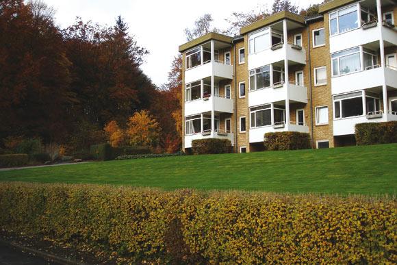 Hans Broges Parken. Arkivfoto (kun online) af Kirsten Hermansen