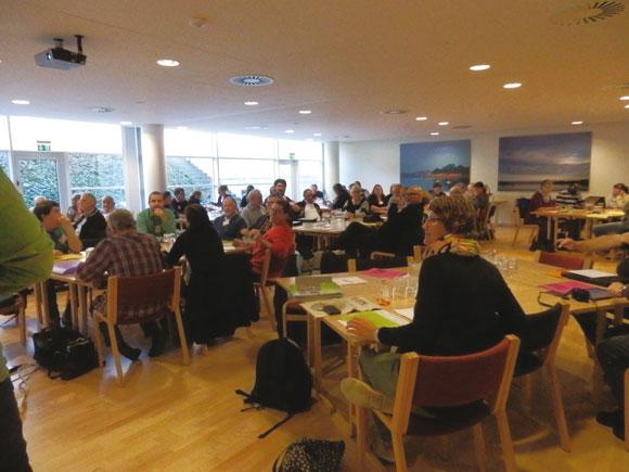 Et halvt hundrede beboerrepræsentanter fra nogle af landet udsatte boligområder mødtes i november på Nyborg Strand