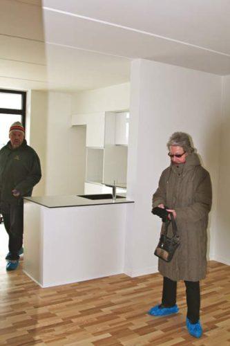 Samtale-køkkener med åben stue