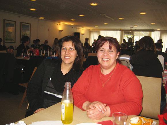 Amira og Jaqueline