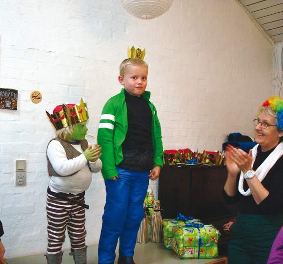 De 0-6 årige konger og dronninger: Mille og Sofus. De 7-12 årige blev: Angelika og Sofie.