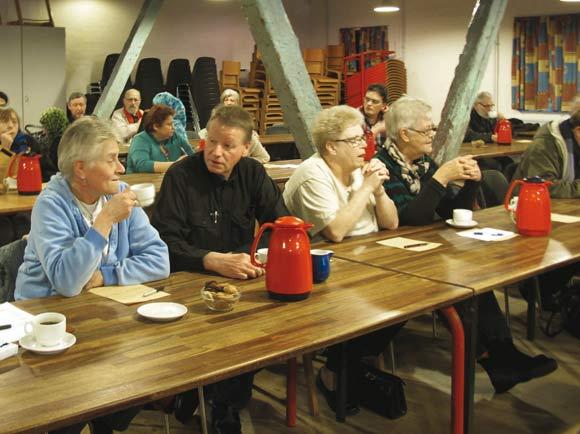 Omkring 50 personer mødte op til afdelingsmødet