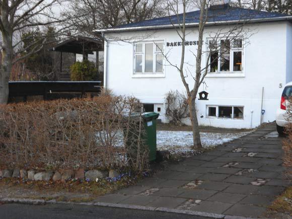 Tranekærvej 13 - her boede Hans Frederik von Lillienskiold