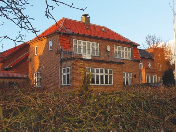 Tyskerne undersøgte aldrig kælderen på  Søparkvej - for på 1. sal boede tyskerne