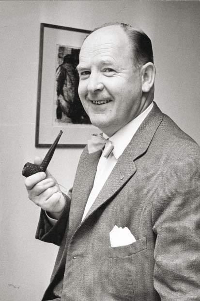 E.V. Jørgensen var med til at stifte Brabrand Boligforening i 1948