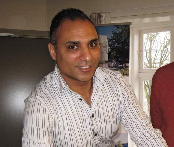 Kulturrådmand Rabih Azad-Ahmad (Rad. V) bor i Gellerupparken