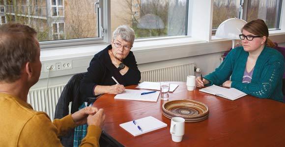 Skræppebladets udsendte interviewer boligforeningens nye direktør.