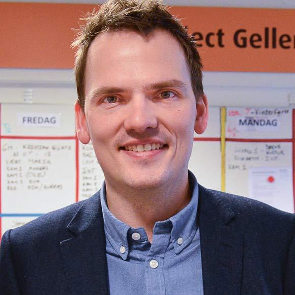Kristian Würtz er ny  i dette job, men erfaren som rådmand.